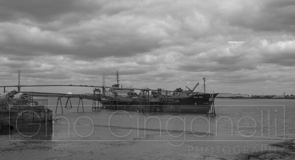 A Gloomy Thames
