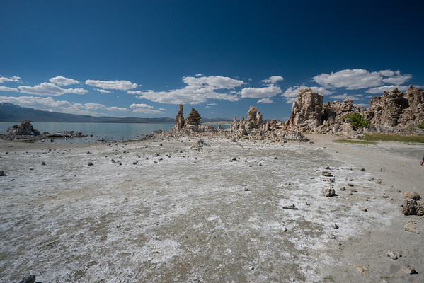 california; california state parks; inyo national forest; mono basin national scenic area; mono lake; sierra nevada; tufa These towrs formed below the lake