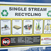 PA utilizes single stream recycling on campus.
