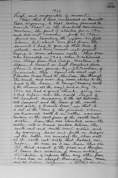 Book #2 - 1936 pg 1061