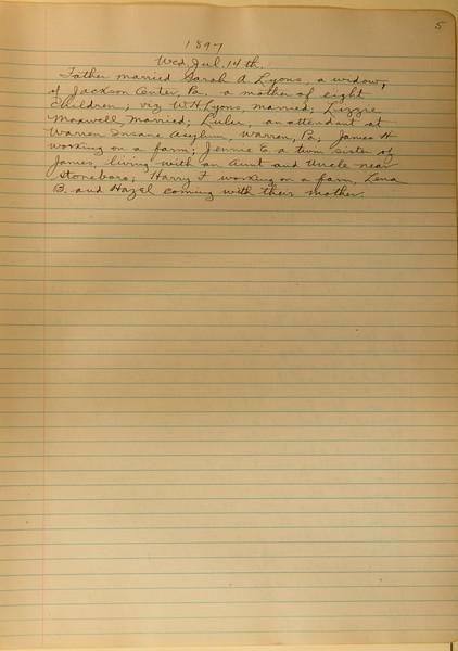 Book #1 - 1897 pg 0005