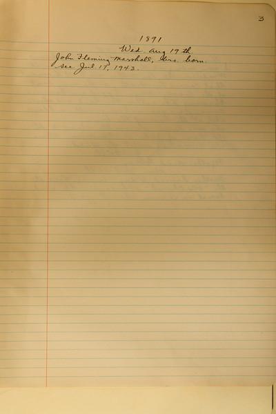 Book #1 - 1891 pg 0003