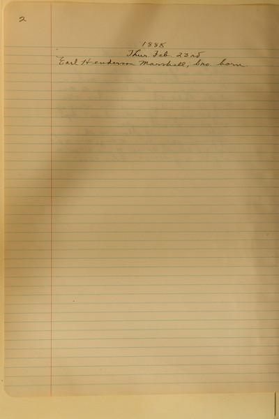 Book #1 - 1888 pg 0002