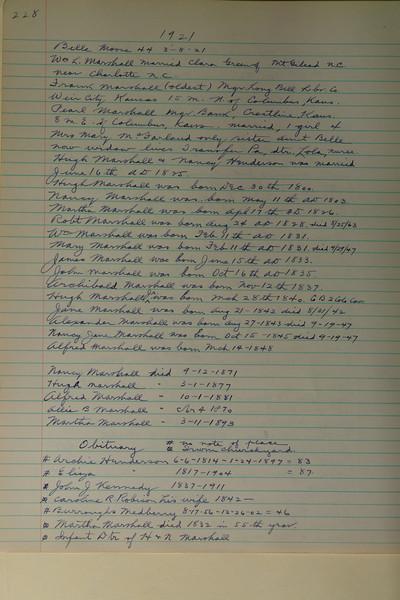 Book #1 - 1921 pg 0228