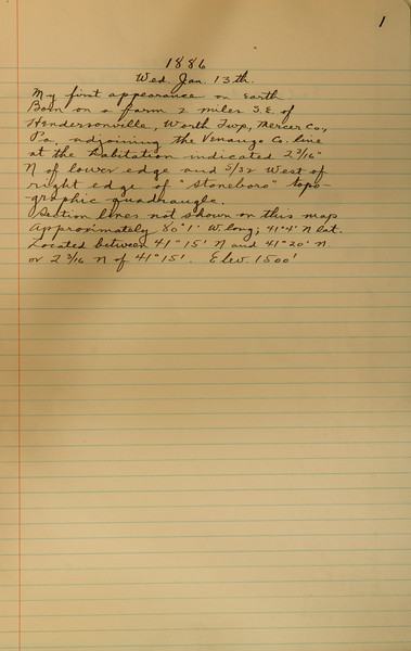 Book #1 - 1886 pg 0001