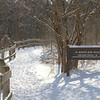 Hiking At Clifton Gorge In Greene County Ohio 2-14-2014
