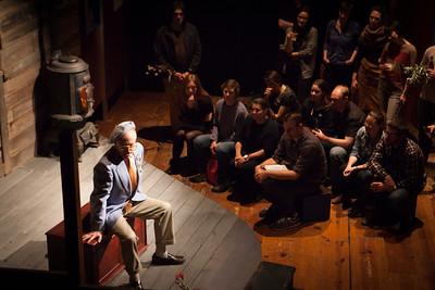 Danny Scheie as Weston Ludlow Londonderry in A House Tour. Photo by: Julie Schuchard