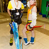 Tidus and Rikku