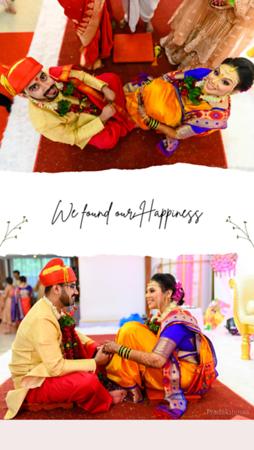 Minimal Wedding Instagram Story
