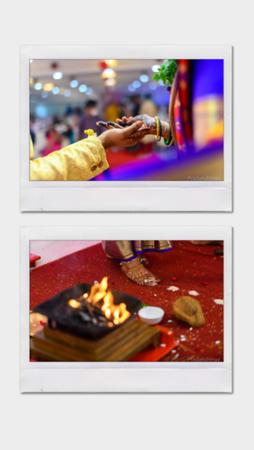 Double Polaroid Template Instagram Story