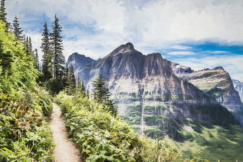 Highline Trail, Glacier National Park