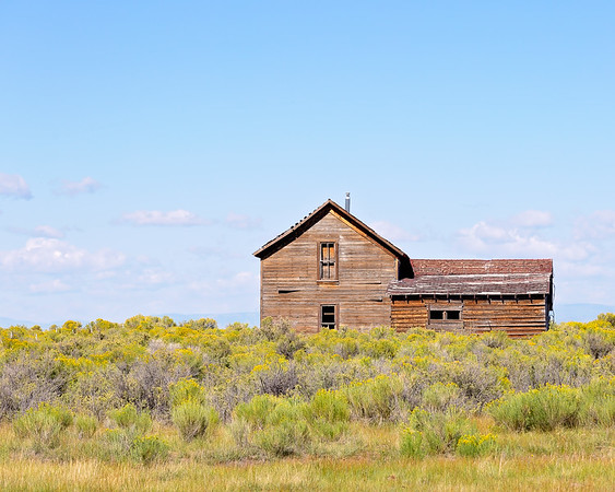Abandoned Ranch House on the Medano, Zapata Ranch