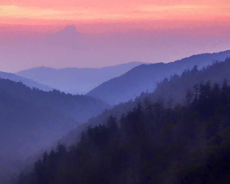 Smoky Mountain Sunset
