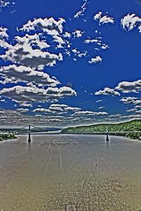 Mid Hudson Bridge / Walk way over the Hudson 5-11-1