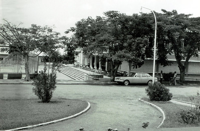 1970- Casa do Pessoal vista da casa das visitas.