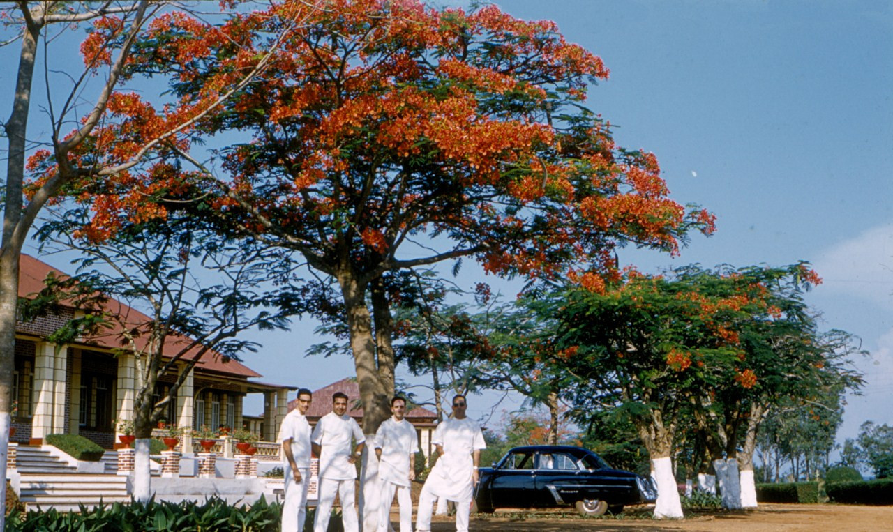 1958, Hospital de Andrada Ressurreicao e....
