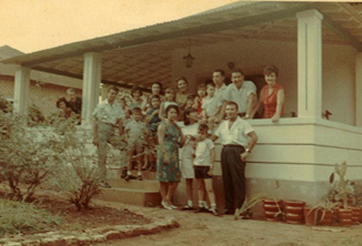 Andrada, 1967 Família Francisco Silva ,  casal Tavares, casal Peleja e amigos