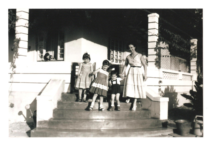 Andrada 1957 Ni rocha, Jome', Elza e mae Bininha