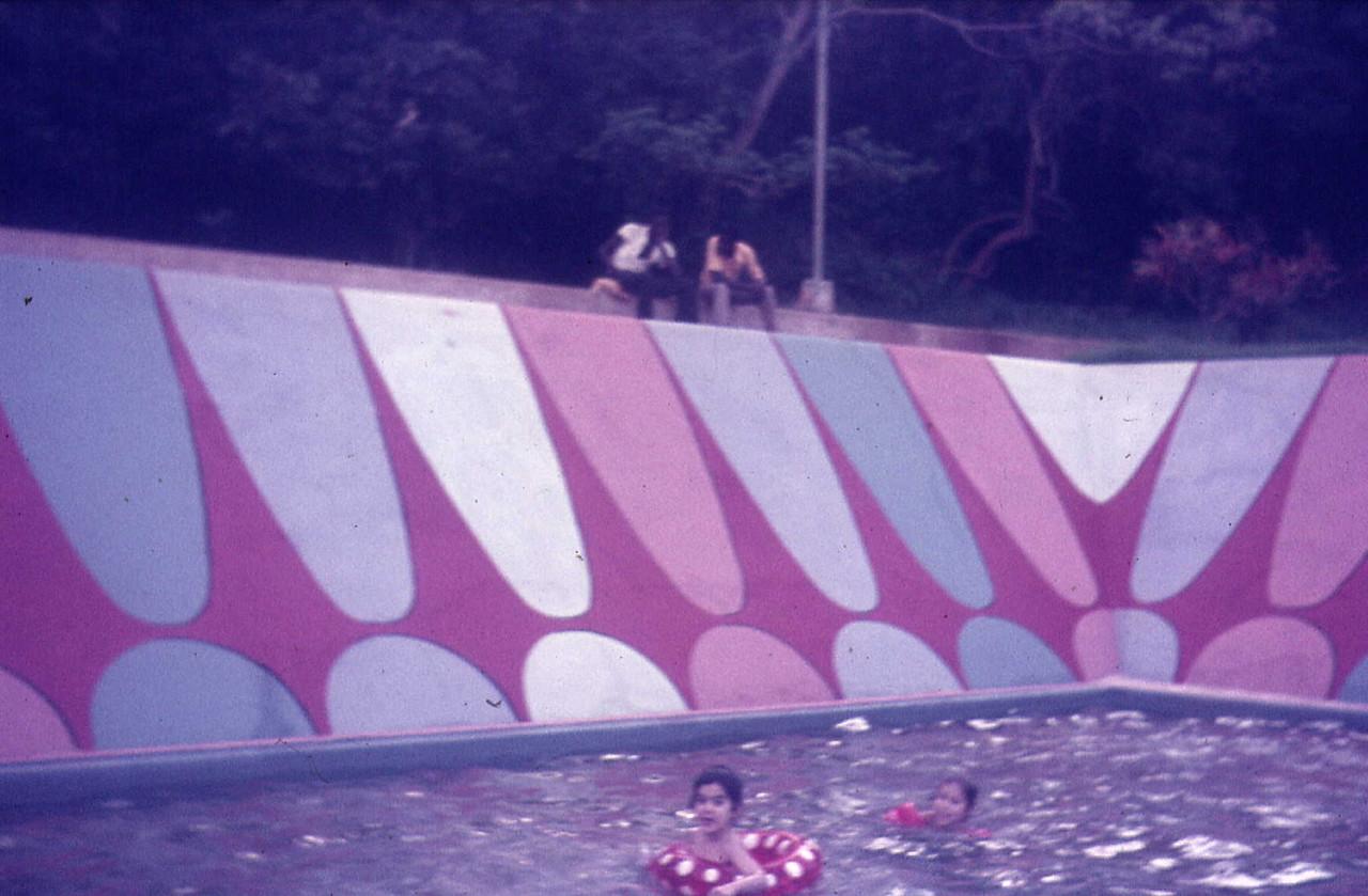 Piscina de Andrada - piscina dos pequeninos Sónia e Maria Cândida, filhas do Gustavo Fonseca