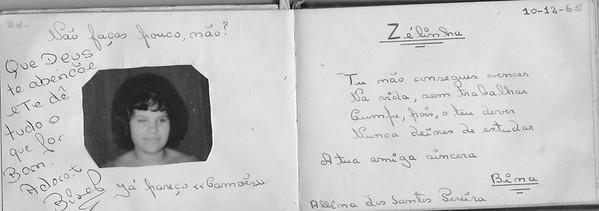 """Bina"""" Alfredo Pereira"""" - Andrada 10 de Dezembro de 1965"""