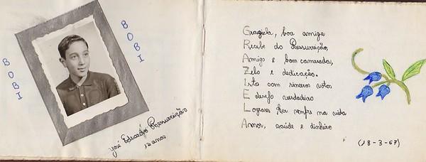 Jose' Eduardo Ressurreicao - 18 de Marco de 1967