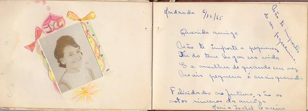 Isabel Caceiro - Andrada 6 de Dezembro 1965