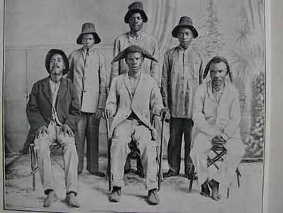 14 de Março de 1915  Sobas de Angola em visita a S. Tomé