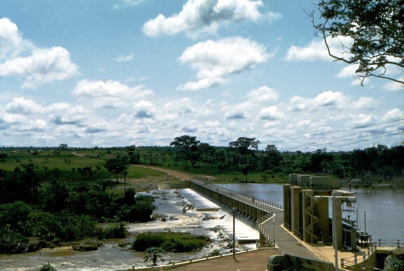 Barragem, Dundo, 1958