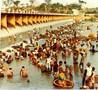 Pesca na barragem