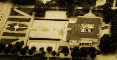 Vista aérea da Casa do Pessoal