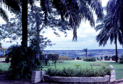 Dundo, Fevereiro 1967, jardins da K18
