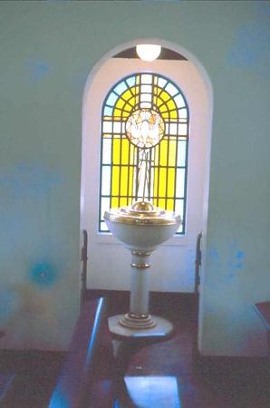 Dundo Pia baptismal