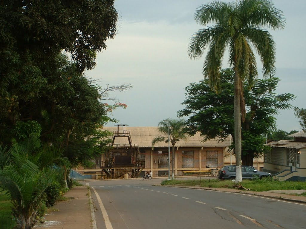 Rua 7  com rua 4 K372 'a direita ao fundo a OGM
