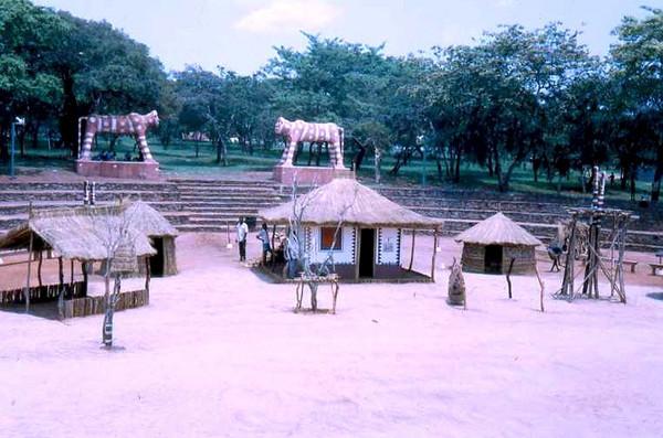 Dundo - Aldeia do Museu onde se faziam as Festas Grandes