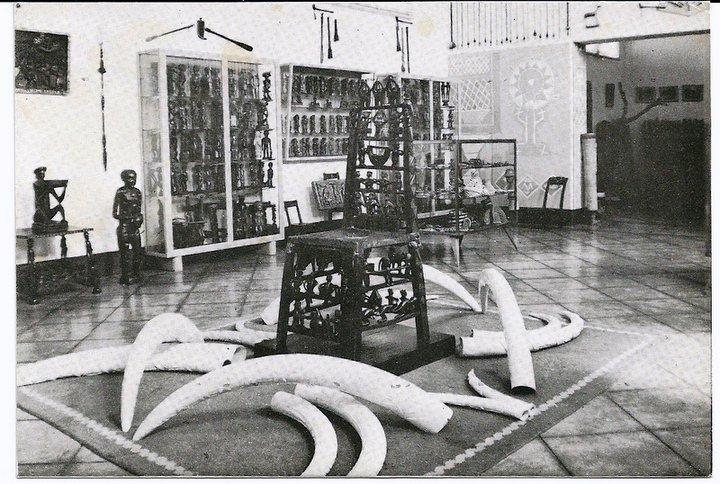 Sala do museu do Dundo