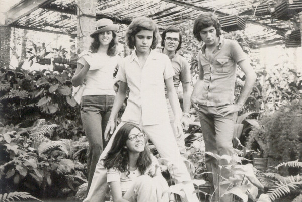 """Março 1973 """"Cenoura"""",  Rui Pinto, Carlos Caldas, Tó e Micá Ressurreição"""