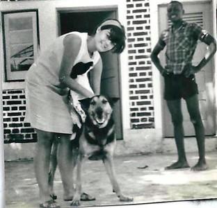 Andrada- 1969-70 Quintal da casa Fontinhas