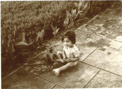 Sandra Moreira Duarte no Calonda com macaquinho