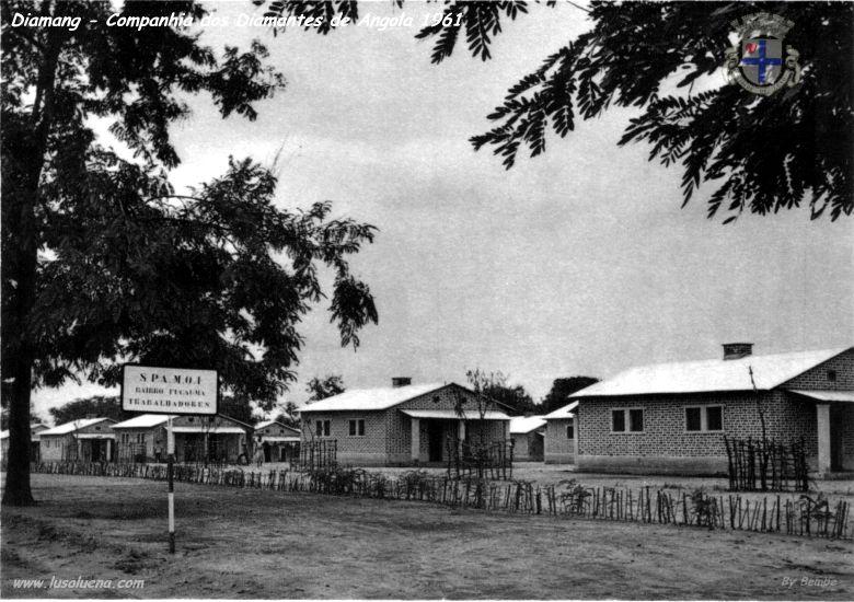 Casas para trabalhadores perto do Fucauma