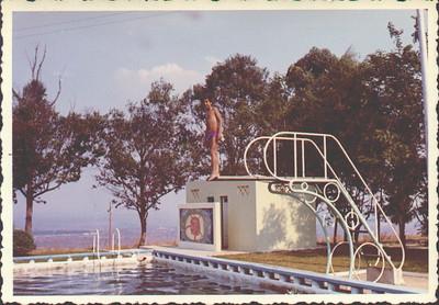 """""""Piscina do Calonda"""" 1971  Álvaro Figueiredo"""