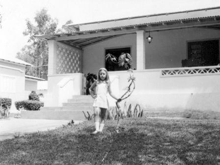 Lucapa - 1973 Laura António (filha de Azevedo António) - 8 anos