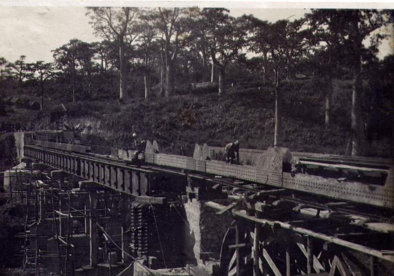 Dundo construcao da ponte sobre o Luachimo