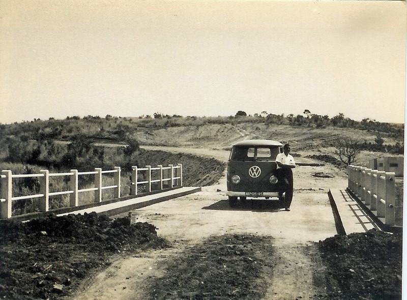 """Ponte e estrada perto de Andrada - Avelino Dinis """"Samokinda"""""""