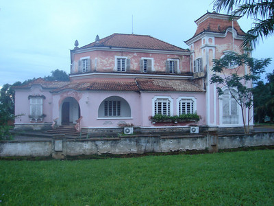 Chitato, ex-casa do administrador