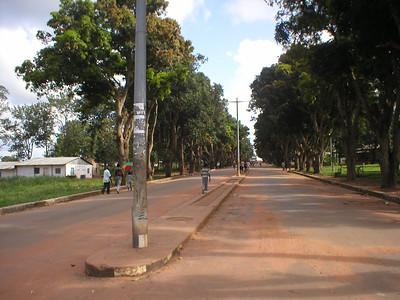 A avenida do Obelisco