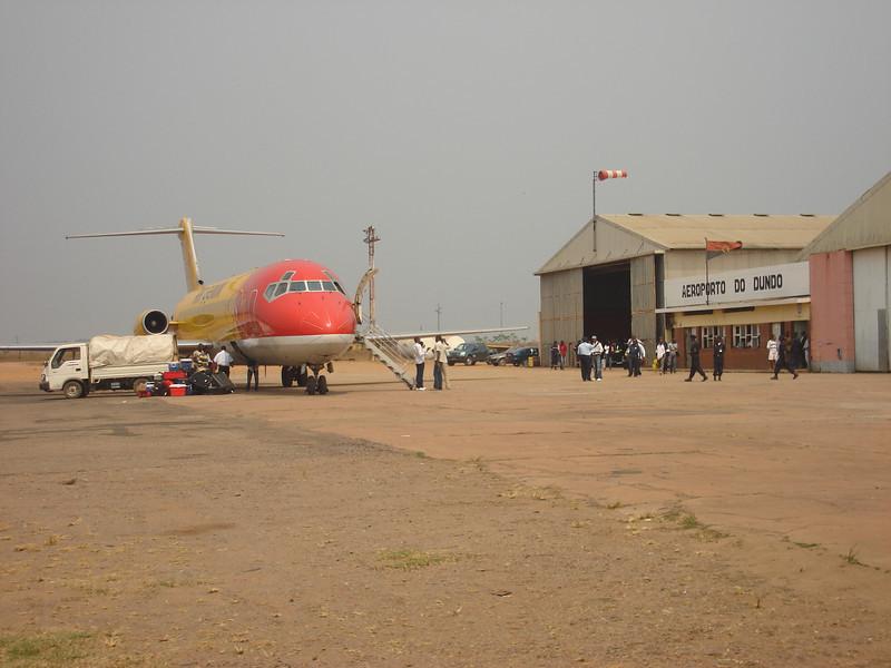 Aeródromo do Kamakenzo.