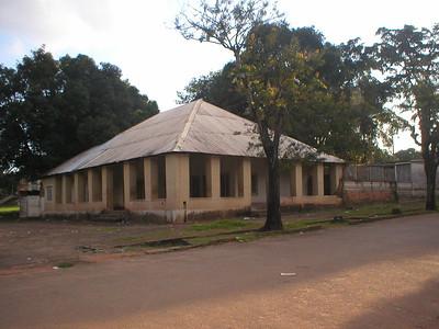 Antigo laboratório de Biologia