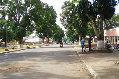 Rua dos escritórios