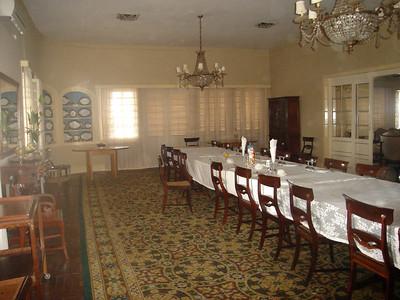 Pormenor da sala de jantar