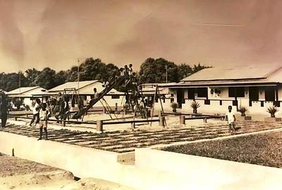 Parque infantil no Bairro do Fucauma